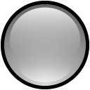 Button Blank Gray icon