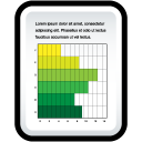 Document Gant Chart icon