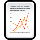Document-Line-Chart icon