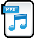 File Audio MP 3 icon