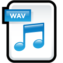 File Audio WAV icon