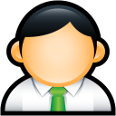 User Administrator Green icon
