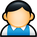 User Preppy Blue icon