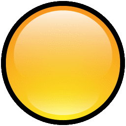 Button Blank Yellow icon
