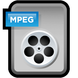 File Video MPEG icon