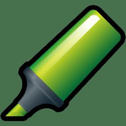 Highlighter Green icon