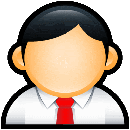 User Administrator Red icon