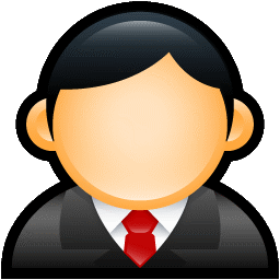 User Executive Red icon