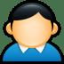 User-Coat-Blue icon
