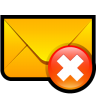Email-Delete icon