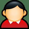User-Coat-Red icon