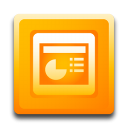 Microsoft PowerPoint Icon | Software Iconset | Hopstarter