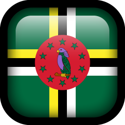 Dominica Flag icon