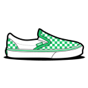 Vans Checkerboard Green icon