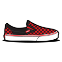 Vans Checkerboard Red icon