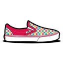 Vans Retro Dots Magenta icon