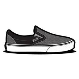 Vans Curls Grey icon