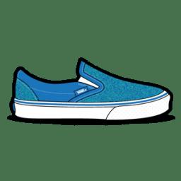 Vans Glitter Blue icon