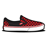 Vans-Checkerboard-Red icon