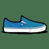 Vans-Glitter-Blue icon