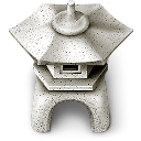 Ishidourou garden lantern icon