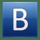 Letter-B-blue icon