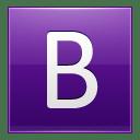 Letter-B-violet icon