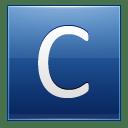 Letter C blue icon