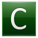 Letter C dg icon