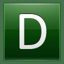 Letter D dg icon