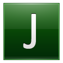 Letter J dg icon