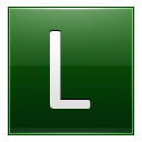 Letter L dg icon