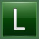 Letter L dg icon
