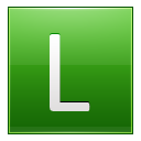 Letter L lg icon