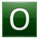 Letter O dg icon