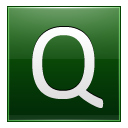 Letter Q dg icon