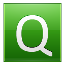 Letter Q lg icon