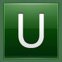 Letter U dg icon