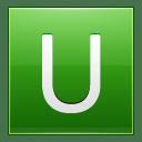 Letter U lg icon