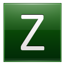 Letter Z dg icon