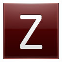 Letter-Z-red icon
