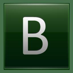 Letter B dg icon