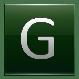Letter G dg icon