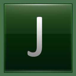 Letter J dg icon