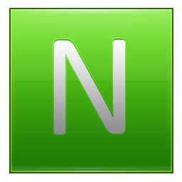Letter N lg icon