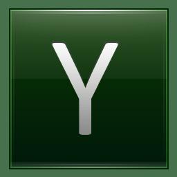 Letter Y dg icon