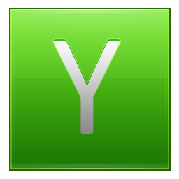 Letter Y lg icon