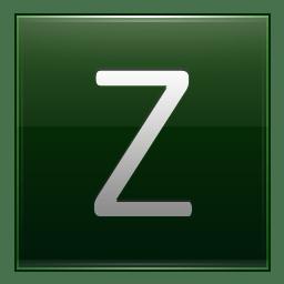 Letter Z dg icon