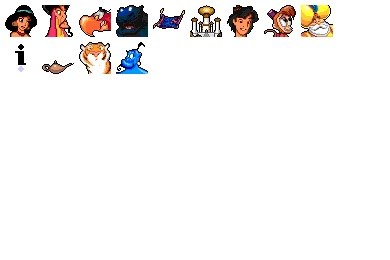 Aladdin Icons