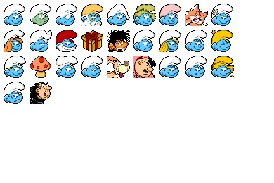 Smurf Icons